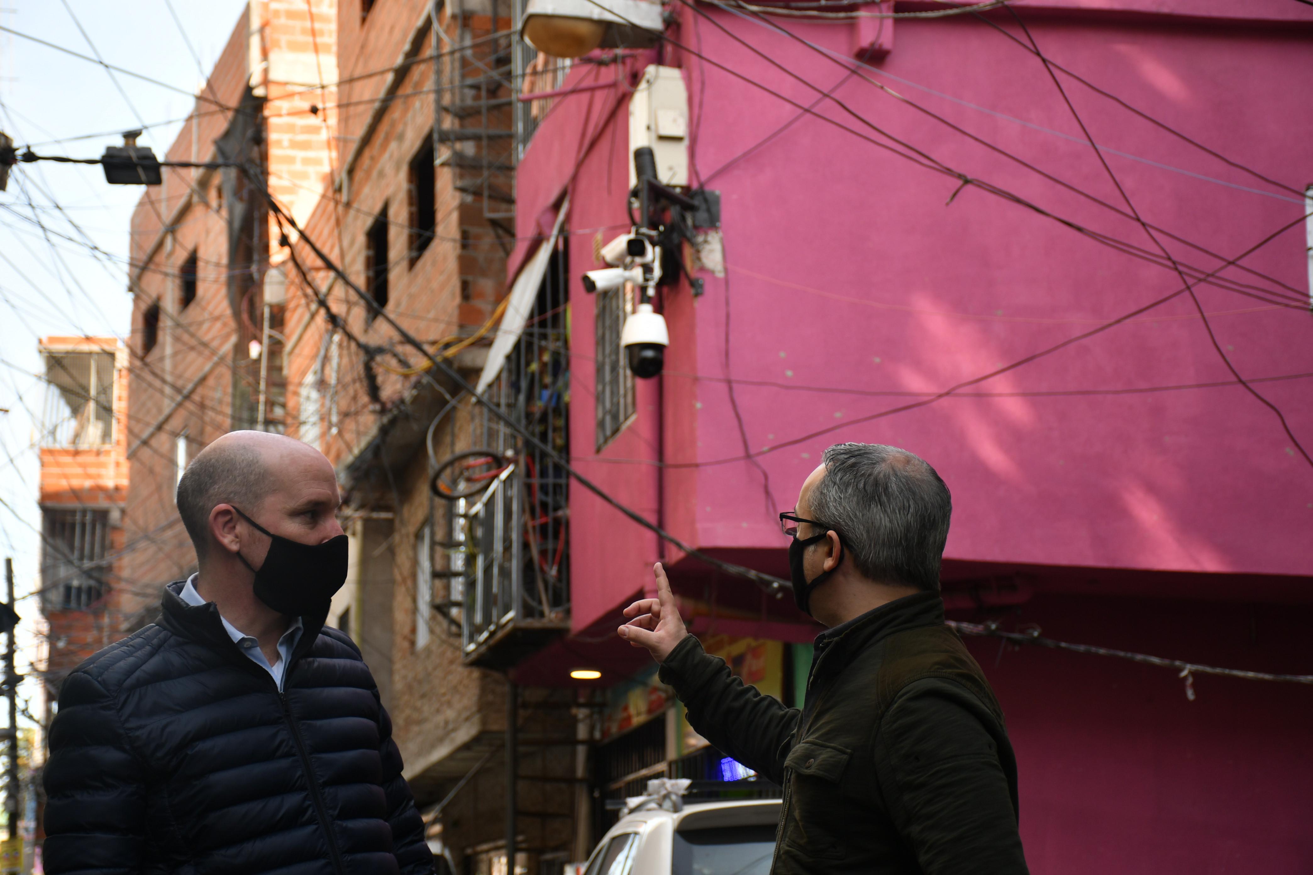 Se instalaron 75 cámaras para optimizar el sistema de video y visualizar los puntos estratégicos del lugar.