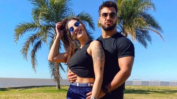 Ivana Nadal junto a Bruno Siri, el ex de Nati Jota
