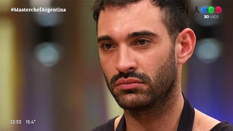 El primer eliminado dijo que espera tener 'la posibilidad de reingresar a Masterchef Argentina con un repechaje'.