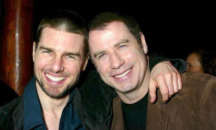 Cruise y Travolta, las estrellas de la cienciología.