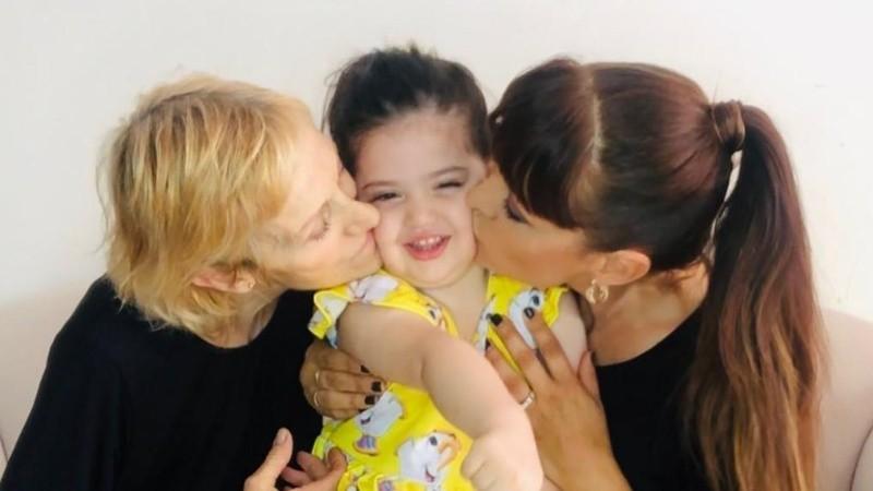 Estévez relató el especial momento que vivió junto a su hija Hannah y su mamá