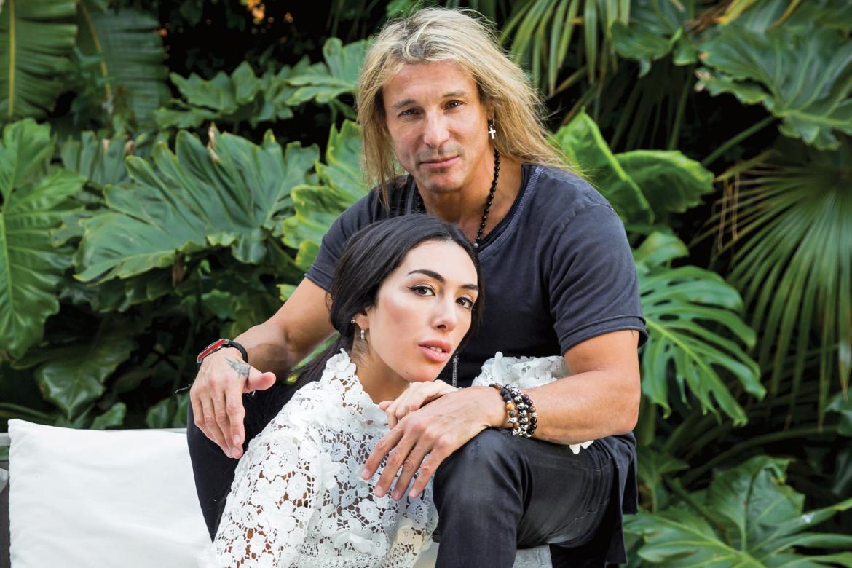 Claudio Caniggia y Sofía Bonelli