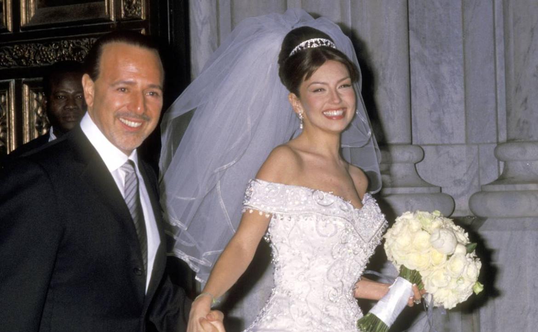 Thalía celebró 22 años de amor junto a Tommy Mottola