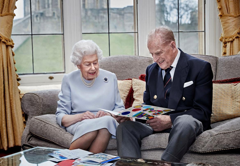 Reina Isabel II junto a Felipe de Edimburgo, REUTERS