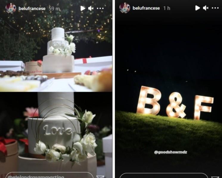La decoración del casamiento de Belén Francese