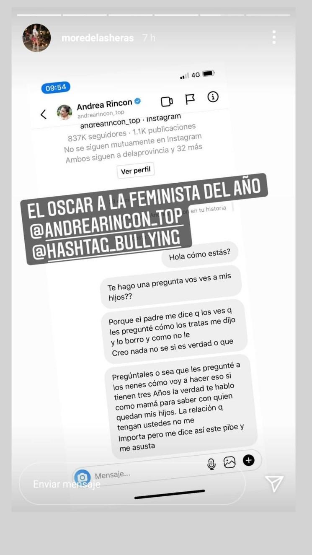 La historia de Instagram de Chusmeteando.