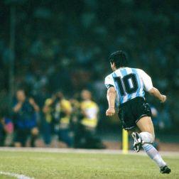 Diego Armando Maradona y el último mundial