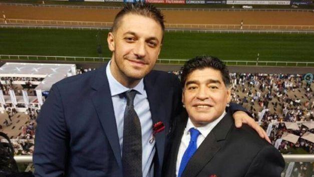 Además de ser el abogado, Matías Morla era muy amigo de Diego Maradona