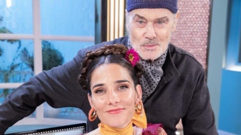 Gino Bogani vistió a Juana Viale durante todo el reemplazo a Mirtha.