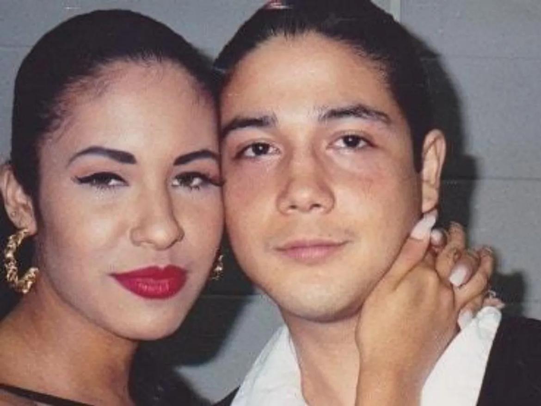 Selena Quintanilla y Chris Pérez, su marido