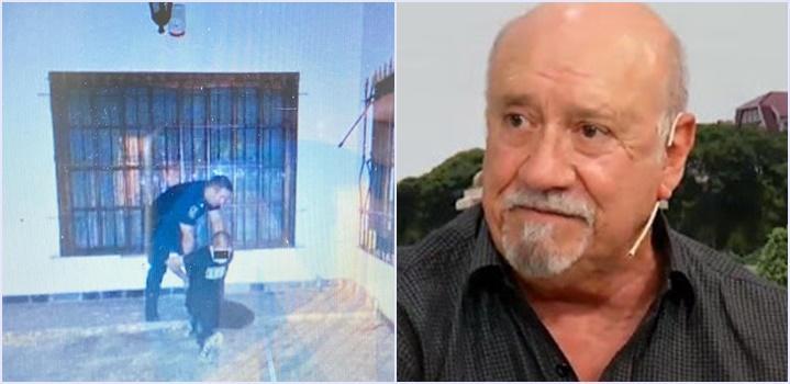 Robo y tiroteo en la casa del actor Osvaldo Santoro