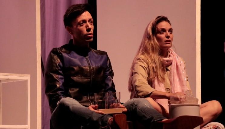 Flor Otero con Roberto Peloni en 'Te quiero, sos perfecto, cambiá'
